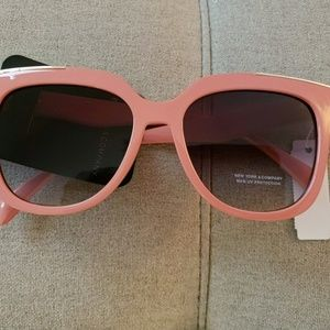 NWT Peachy Pink Sunglasses